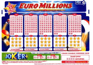 163 Millionen aus den EuroMillionen gewonnen